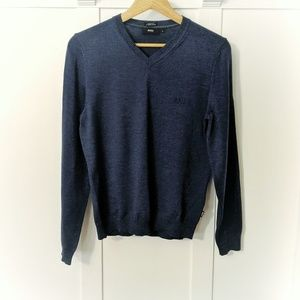 Hugo Boss Extra Fine Merino Wool Pullover Sweater